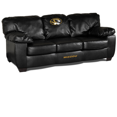 Missouri Tigers Classic Leather Sofa | Imperial International | 79-6019
