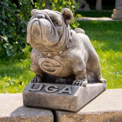 Georgia Bulldogs Vintage Mascot Garden Statue | Stonecasters | 2781TR
