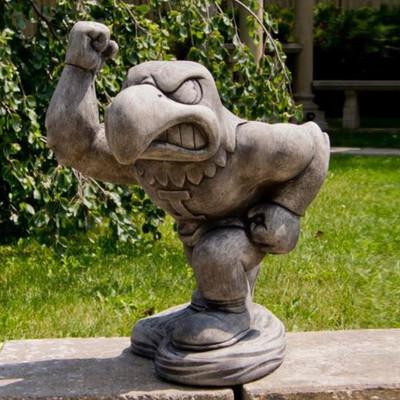 Iowa Hawkeyes Vintage Mascot Garden Statue | Stonecasters | 2981TR