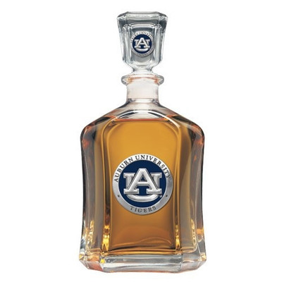 Auburn Tigers Capitol Decanter | Heritage Pewter | CPT10155EB
