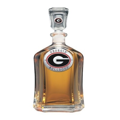 Georgia Bulldogs Capitol Decanter | Heritage Pewter | CPT10005ER