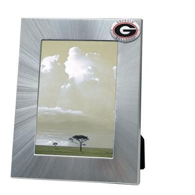 Georgia Bulldogs 5x7 Picture Frame | Heritage Pewter | FR10005ERLG