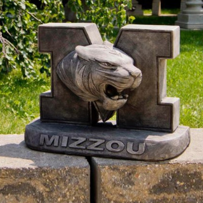 Missouri Tigers Vintage Mascot Garden Statue | Stonecasters | 2986TR