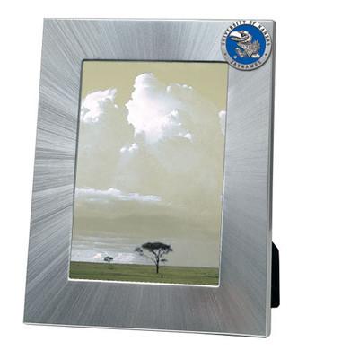 Kansas Jayhawks 5x7 Picture Frame | Heritage Pewter | FR10184EBLG