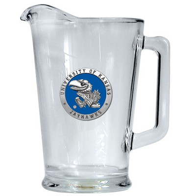 Kansas Jayhawks Beer Pitcher | Heritage Pewter | PI10184EB