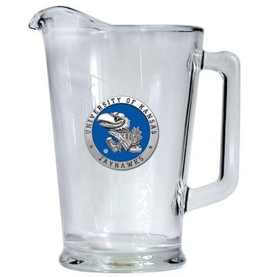 Kansas Jayhawks Beer Pitcher | Heritage Pewter | PI10184EB