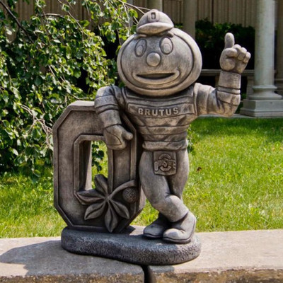 Ohio State Buckeyes Vintage Mascot Garden Statue | Stonecasters | 2983TR