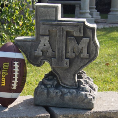 Texas A&M Aggies Vintage Mascot Garden Statue | Stonecasters | 2991TR