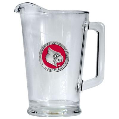Louisville Cardinals Beer Pitcher   Heritage Pewter   PI10186ER