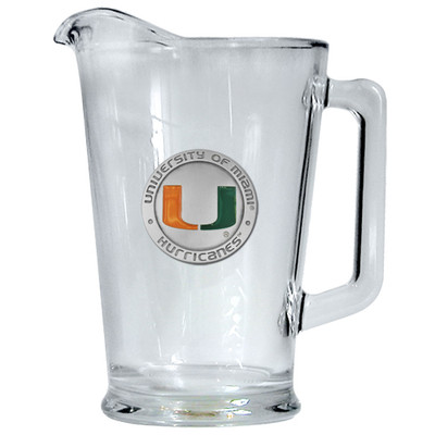 Miami Hurricanes Beer Pitcher | Heritage Pewter | PI10185EO