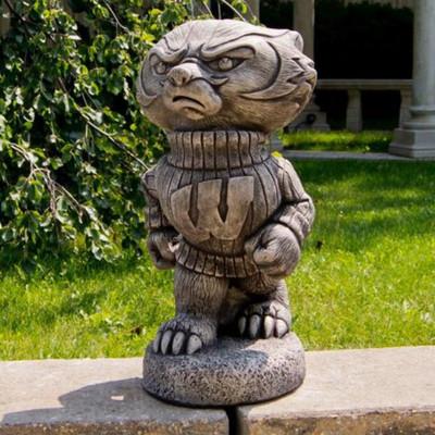 Wisconsin Badgers Vintage Mascot Garden Statue | Stonecasters | 2786TR