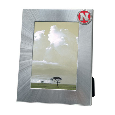 Nebraska Huskers 5x7 Picture Frame | Heritage Pewter | FR10183ERLG