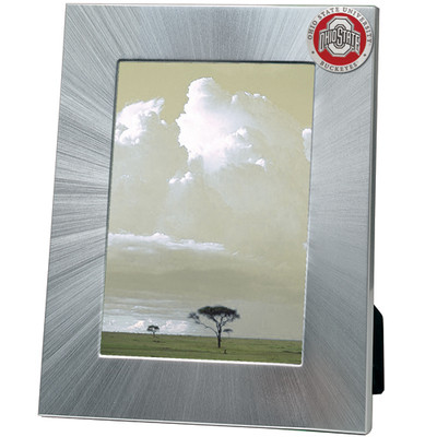 Ohio State Buckeyes 5x7 Picture Frame   Heritage Pewter   FR10175ERLG