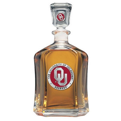 Oklahoma Sooners Capitol Decanter | Heritage Pewter | CPT10194ER
