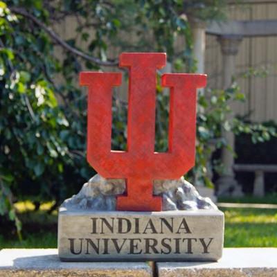 Indiana Hoosiers Mascot Garden Statue | Stonecasters | 2997HT