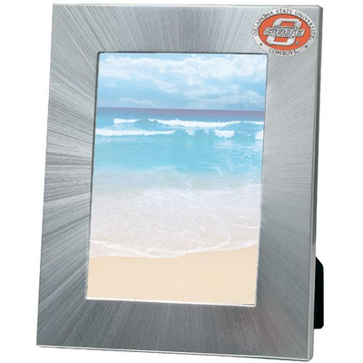 Oklahoma State Cowboys 5x7 Picture Frame | Heritage Pewter | FR10152EOLG