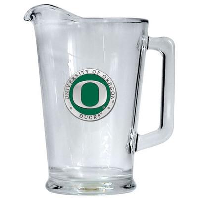 Oregon Ducks Beer Pitcher | Heritage Pewter | PI10169EG