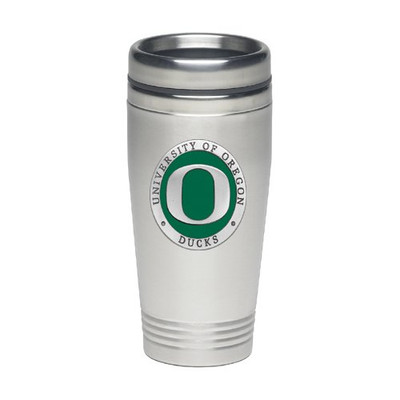 Oregon Ducks Thermal Mug | Heritage Pewter | TD10169EG