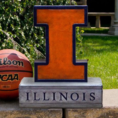 Illinois Fighting Illini Mascot Garden Statue | Stonecasters | 2999HT