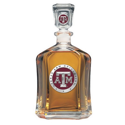 Texas A&M Aggies Capitol Decanter | Heritage Pewter | CPT10126ER
