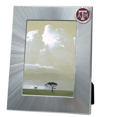 Texas A&M Aggies 5x7 Picture Frame | Heritage Pewter | FR10126ERLG