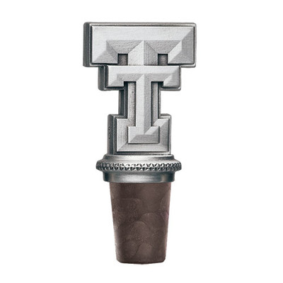 Texas Tech Red Raiders Bottle Stopper | Heritage Pewter | BS10146