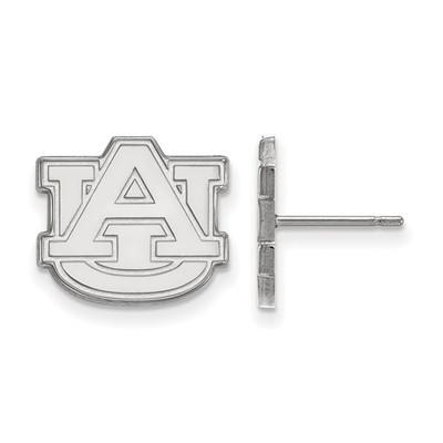 Auburn University Logo Sterling Silver Post Earrings | Logo Art | SS009AU