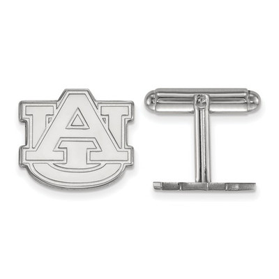 Auburn University Logo Sterling Silver Cufflinks | Logo Art | SS012AU