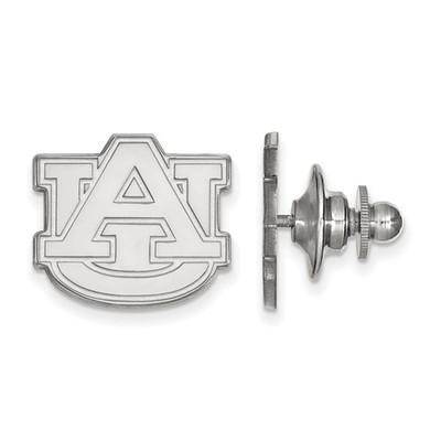 Auburn University Logo Sterling Silver Lapel Pin | Logo Art | SS011AU