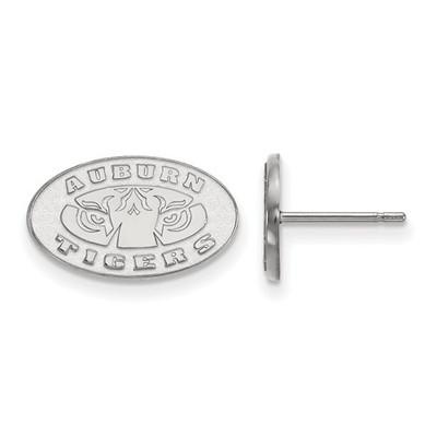 Auburn Tigers Sterling Silver Post Earrings | Logo Art | SS049AU