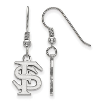 FSU Logo Sterling Silver Dangle Earrings | Logo Art | SS007FSU