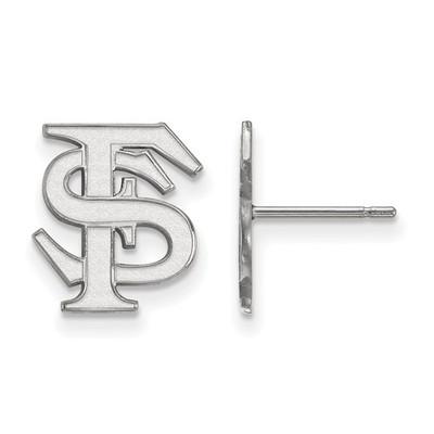 FSU Logo Sterling Silver Post Earrings | Logo Art | SS009FSU