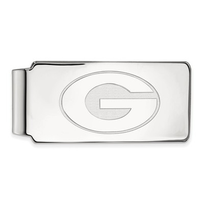 Georgia Bulldogs Sterling Silver Money Clip | Logo Art | SS025UGA