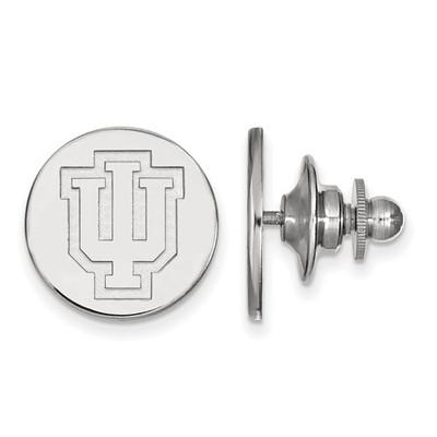 Indiana Hoosiers Sterling Silver Lapel Pin | Logo Art | SS050IU
