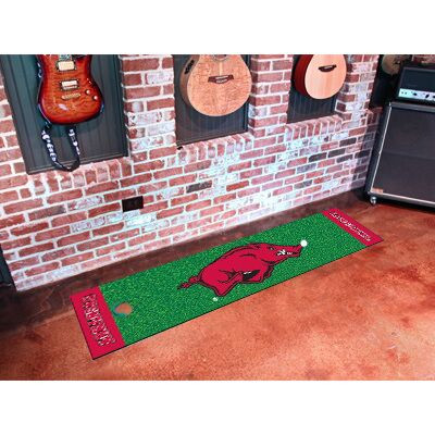 Arkansas Razorbacks Putting Green Mat | Fanmats | 9065