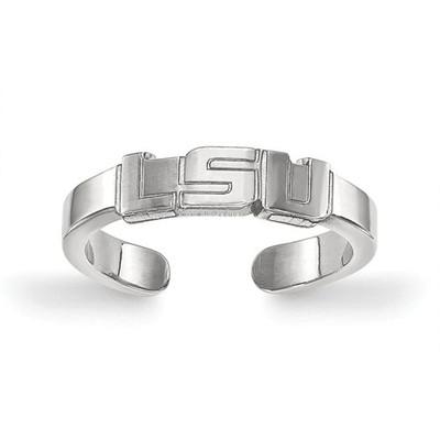 LSU Tigers Sterling Silver Toe Ring | Logo Art | SS023LSU