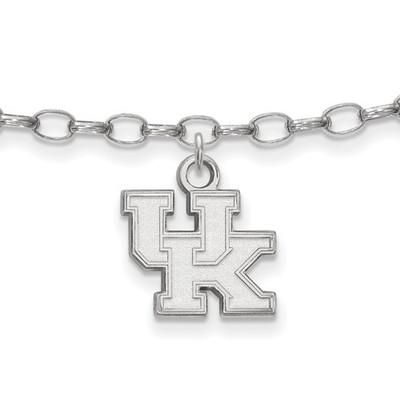 Kentucky Wildcats Sterling Silver Ankle Bracelet   Logo Art   SS030UK