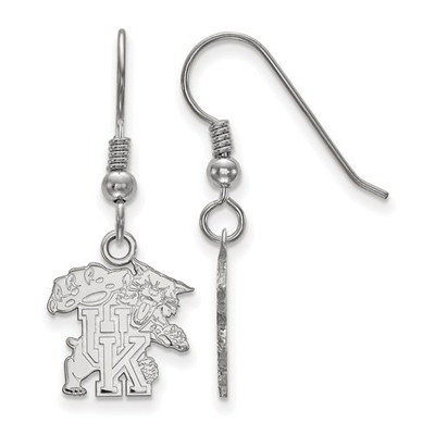 Kentucky Wildcats Sterling Silver Dangle Earrings | Logo Art | SS049UK