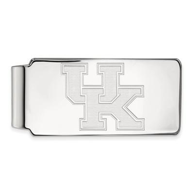 Kentucky Wildcats UK Sterling Silver Money Clip | Logo Art | SS025UK