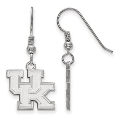 Kentucky Wildcats UK Logo Silver Dangle Earrings | Logo Art | SS007UK