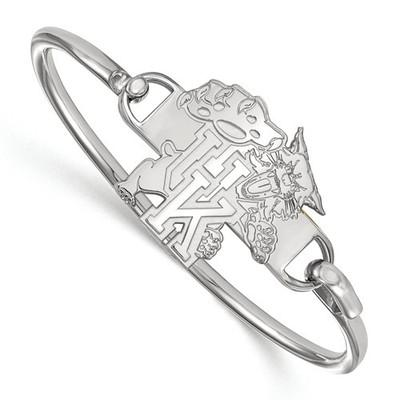 Kentucky Wildcats Sterling Silver Bangle Bracelet | Logo Art | SS060UK-7
