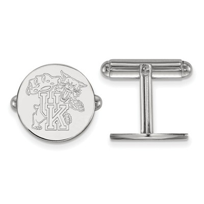 Kentucky Wildcats Sterling Silver Cufflinks | Logo Art | SS053UK