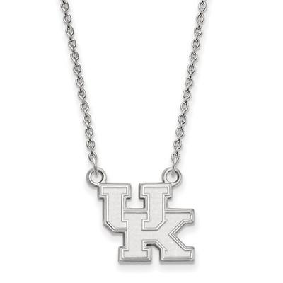 Kentucky Wildcats UK Sterling Silver Pendant Necklace | Logo Art | SS015UK-18