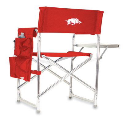 Arkansas Razorbacks Sports Chair | Picnic Time | 809-00-100-034-0