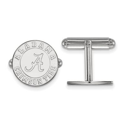 Alabama Crimson Tide Sterling Silver Cufflinks | Logo Art | SS052UAL