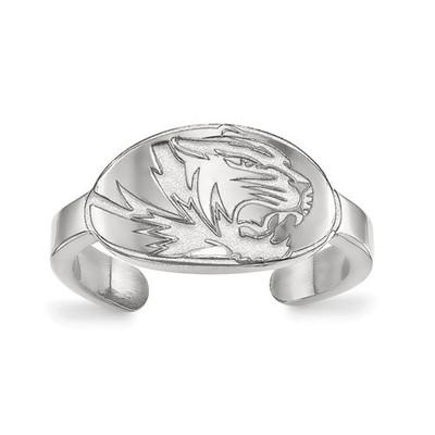 Missouri Tigers Sterling Silver Toe Ring | Logo Art | SS029UMO