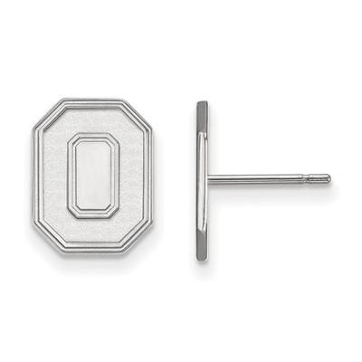 Ohio State O Logo Sterling Silver Post Earrings | Logo Art | SS052OSU