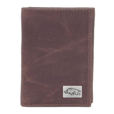 Arkansas Razorbacks Tri-Fold Wallet | Eagles Wings | 2497