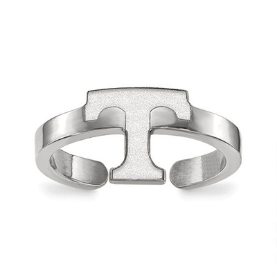 Tennessee Volunteers T Sterling Silver Toe Ring | Logo Art | SS029UTN