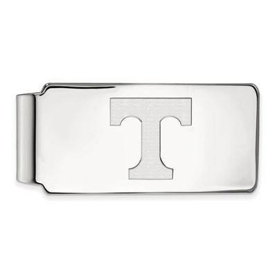 Tennessee Volunteers T Sterling Silver Money Clip | Logo Art | SS025UTN